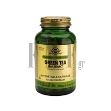 SOLGAR Green Tea Leaf Extract - 60 Caps.