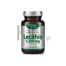 POWER HEALTH Platinum Range Lecithin 1200mg. - 60 Caps.