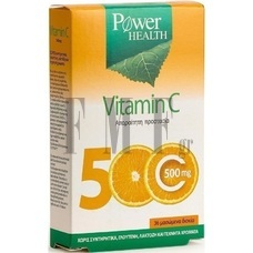 POWER HEALTH Vitamin C 500mg - 36 Tabs.