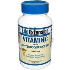 LIFE EXTENSION Vitamin C with Dihydroquercetin - 60 Tabs.