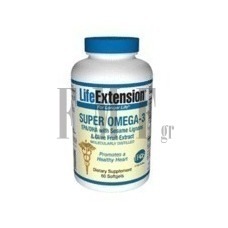 LIFE EXTENSION Super Omega-3 EPA/DHA - 60 Caps.