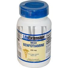 LIFE EXTENSION Benfotiamine - 120 Caps.