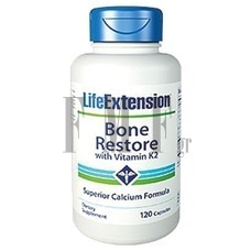 LIFE EXTENSION Bone Restore with Vitamin K2 - 120 Caps.