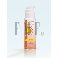 COVERDERM Filteray Body Plus Milk - SPF20  150ml.
