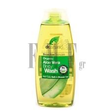 DR.ORGANIC Aloe Vera Body Wash - 250 ml.